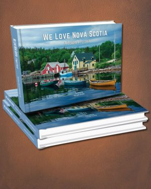 We Love Nova Scotia book cover